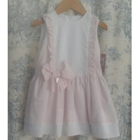 Vestido infantil Aranjuez rayas rosa 534 YOEDU