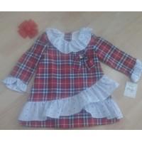 Vestido bebe hadas YOEDU 5105