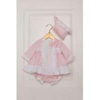 Vestido braguita y capota bebé 2018 DOLCE PETIT