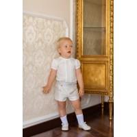 Camisa manga corta y pantalón corto bebe 2108 DOLCE PETIT