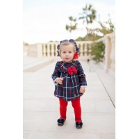 Vestido y braguita bebé 2113 DOLCE PETIT