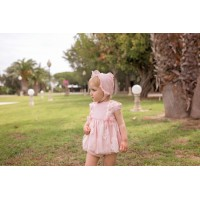 Vestido braguita y capota bebé 2113 DOLCE PETIT