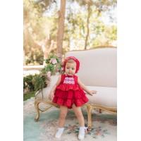Vestido y braguita bebé 2115 DOLCE PETIT