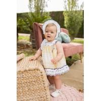 Vestido y braguita bebé 2123 DOLCE PETIT