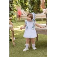 Vestido y braguita bebé 2125 DOLCE PETIT