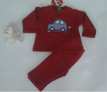 Chandal KIZ rojo coche  ch16