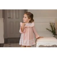 Vestido infantil niña 2203. DOLCE PETIT