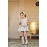 Vestido infantil niña 2208 DOLCE PETIT