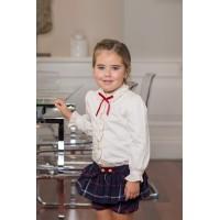 Conjunto blusa y pantalón corto niña 2210 DOLCE PETIT
