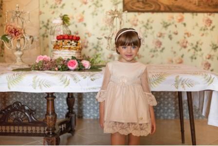 Vestido infantil niña 2210 DOLCE PETIT