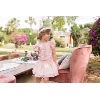 Conjunto blusa y falda infantil 2212 DOLCE PETIT