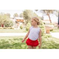 Conjunto blusa y pantalón corto infantil niña 2215 DOLCE PETIT