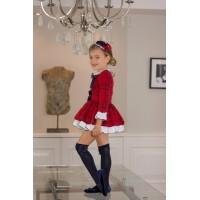 Vestido infantil niña 2221 DOLCE PETIT