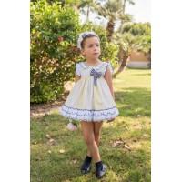 Vestido infantil niña 2222 DOLCE PETIT