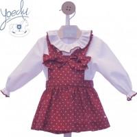 Conjunto falda niña Tin Tin 2226 YOEDU