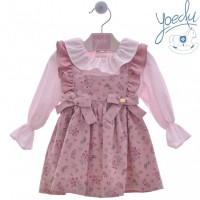 Pichi y blusa niña Dedal 2226 YOEDU
