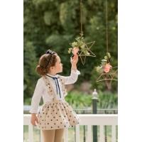 Conjunto camisa y falda infantil niña 2230 DOLCE PETIT