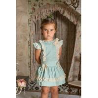 Conjunto blusa y falda infantil niña 2247 DOLCE PETIT