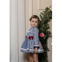 Vestido infantil niña 2248 V DOLCE PETIT