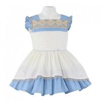 Vestido infantil azul MIRANDA 210 V