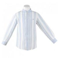 camisa niño azul MIRANDA 0268-2