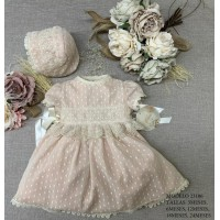 Vestido bebe ceremonia Rosa Lilus 23106