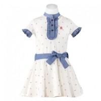 Vestido polo niña MIRANDA 1414V