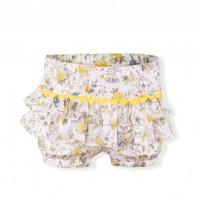 Conjunto camiseta y pantalón corto infantil niña 0272 MIRANDA