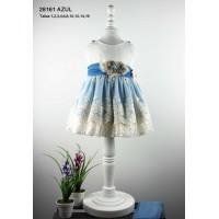 Vestido ceremonia Lilus  azul 28161