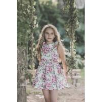 vestido niña estampado DOLCE AELA 3008