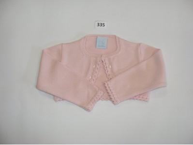 chaqueta hilo algodón rosa GRANLEI 335