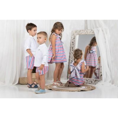 vestido infantil MARTA y PAULA  516