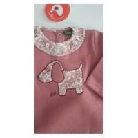 Chandal cuello tela perro rosa toscana CHT15 KIZ-KIZ