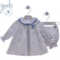 Vestido bebé con pololo Pompon 5111 YOEDU