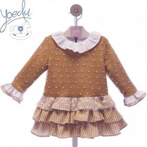 Vestido infantil Maya 5162 YOEDU