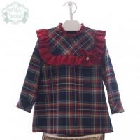 Vestido infantil Nueva York MARTA Y PAULA 5166