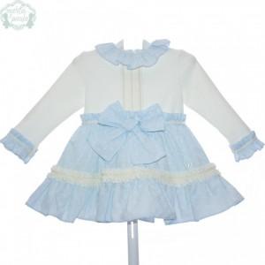 MARTA Y PAULA vestido infantil art 5170 familia LORCA