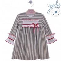 Vestido infantil Pespunte 5174 YOEDU
