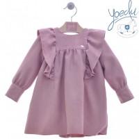 Vestido infantil Lana 5177 YOEDU