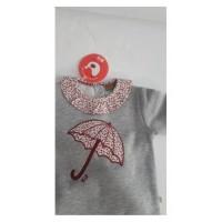 Chandal paraguas cuello tela gris CHT38 KIZ-KIZ
