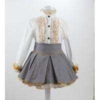 Conjunto falda + camisa gris oscuro 5927 LOANBOR