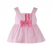 Conjunto Blusón y falda-pantalon  infantil 0616 MIRANDA
