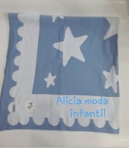 Manta estrella azul  cielo NICODINGO  10443