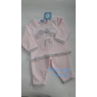 Chandal  niña rosa SARDON zapatillas ballet CO 655
