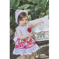 Vestido y braguita bebe DOLCE PETIT 2115