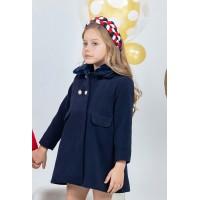 Abrigo infantil niña YOEDU 4989 azul