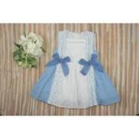 vestido niña azulina YOEDU 0501 familia ZARZUELA