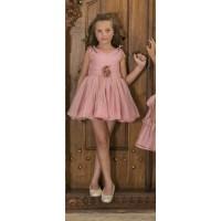 vestido tul Nekenia rosa maquillaje 1821842