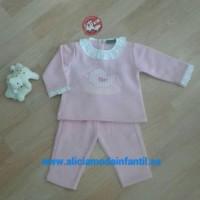 chándal niña KIZ pollito rosa CHC5