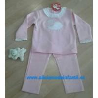 Chándal niña KIZ  ovejita  rosa CHC5